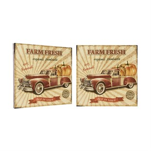 Farm Fresh Ahşap Tablo